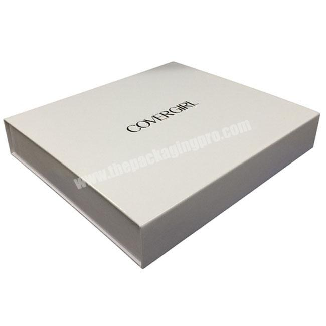 High Quality Paper Material  Printable Custom  Luxury Hinged Lid Rigid Box  Hinged Set up Box