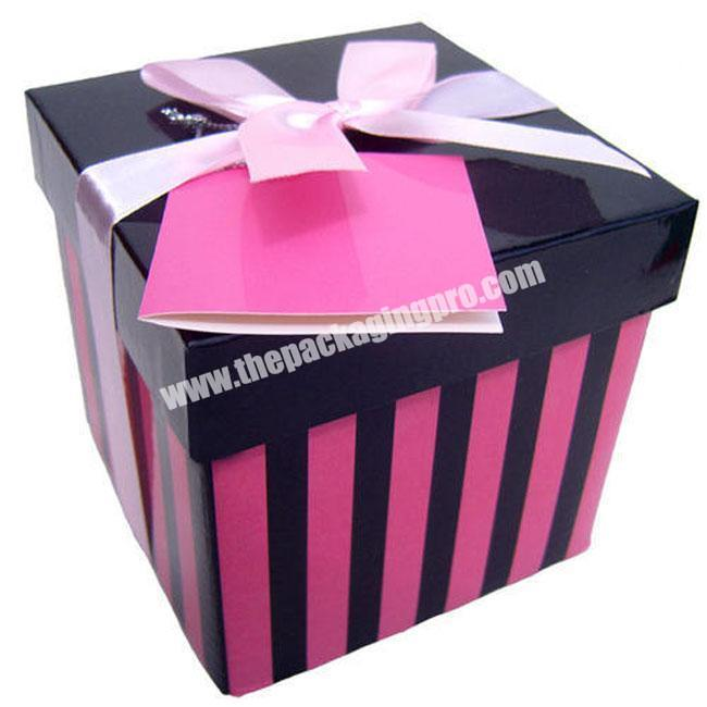 High quality popular exquisite paper box for cake packaging