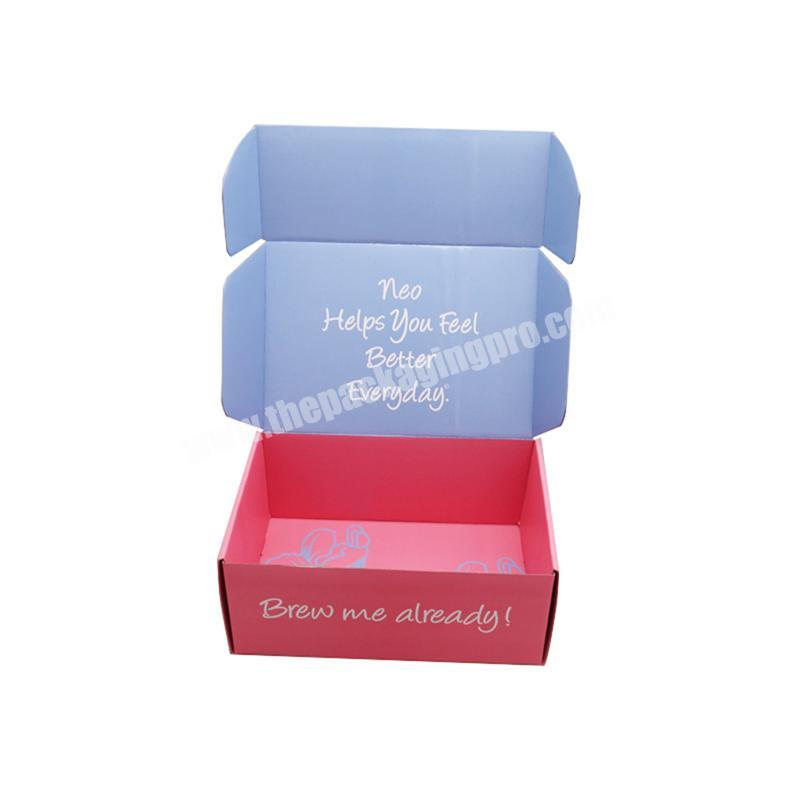 high quality promotional cardboard box mailing