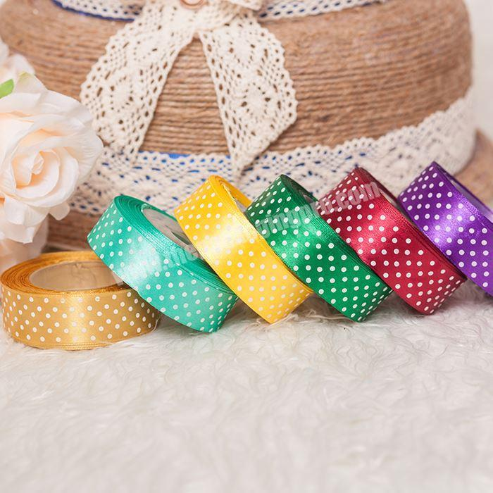 Wholesale High Quality Promotional Double Face Printed Satin Ribbon