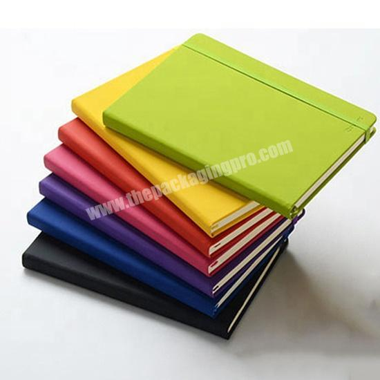 High Quality  PU Leather Custom Logo Notebook For StudentOffice