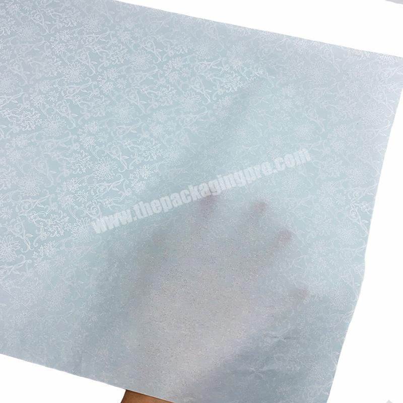 High quality recycled material full printing wrapping tissue paper