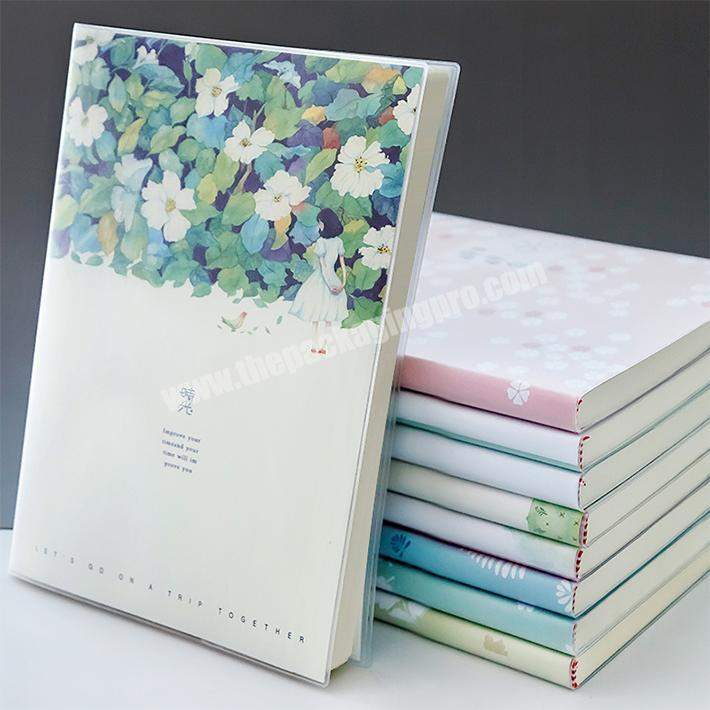 High Quality Special Paper Softcover Notebook Customized Design