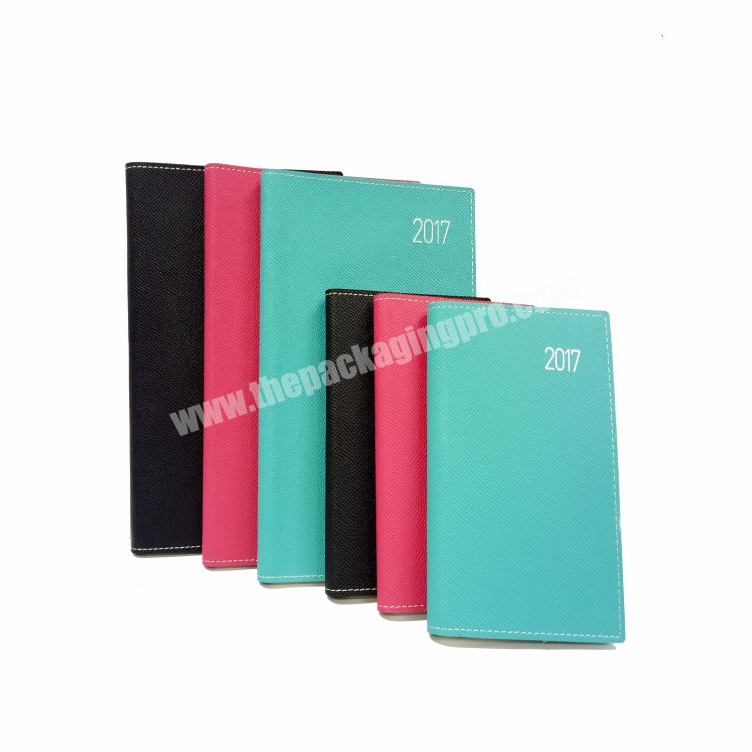 High Quality Spiral Diary Bonded Leather Cover Notebook For OfficeSchoolGift