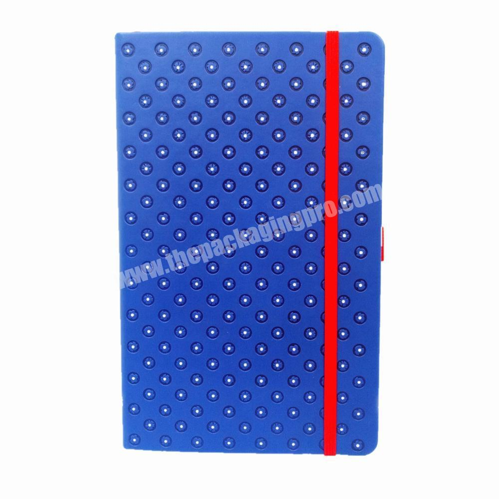 High quality wholesale custom planner leather cover diary business notebook