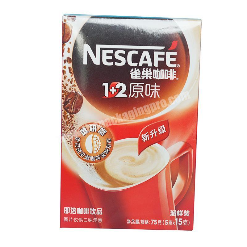 Hot Custom Printed Coffee Paper Box, Paper Packaging Box For Coffee in Guangzhou