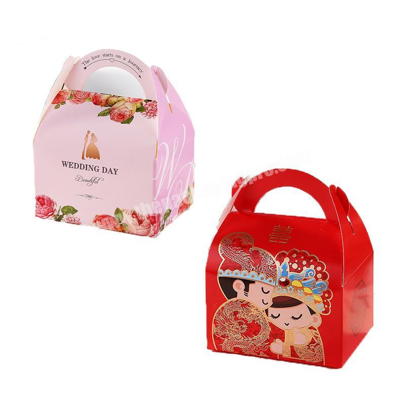 Hot sale candy box wedding gift box wedding candy wedding favour boxes Best Quality with Best price