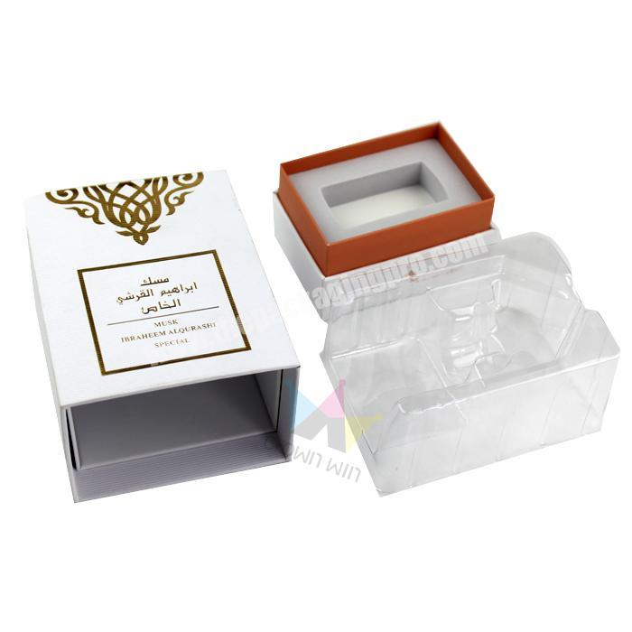 Factory Hot sale essential oil paper gift box packaging storage