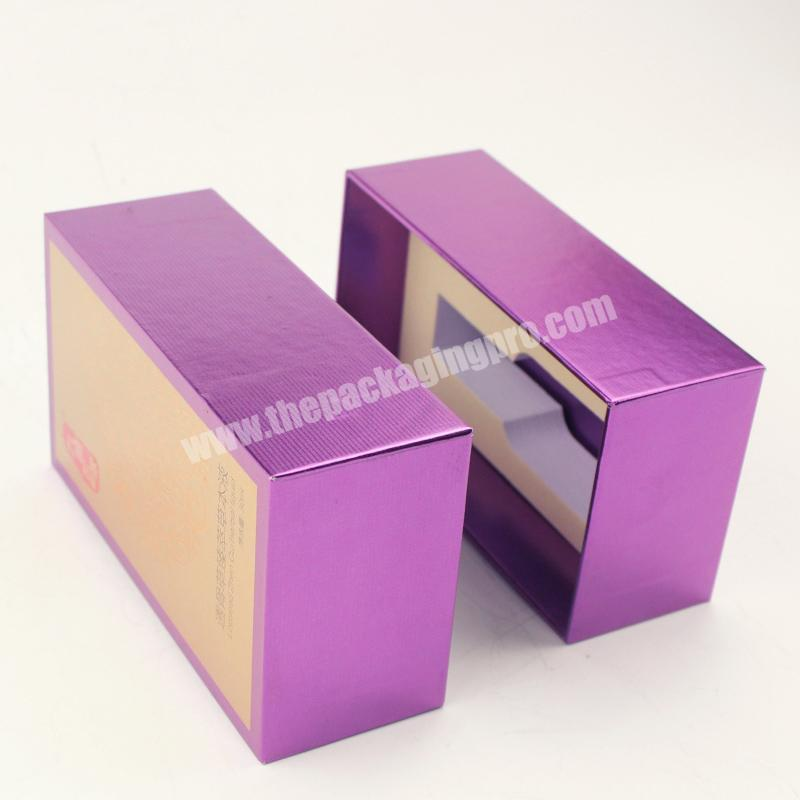 Hot Sale Promotional High Quality Cardboard Box For Nail Polish, Printing Luxury Skincare Packaging Boxes