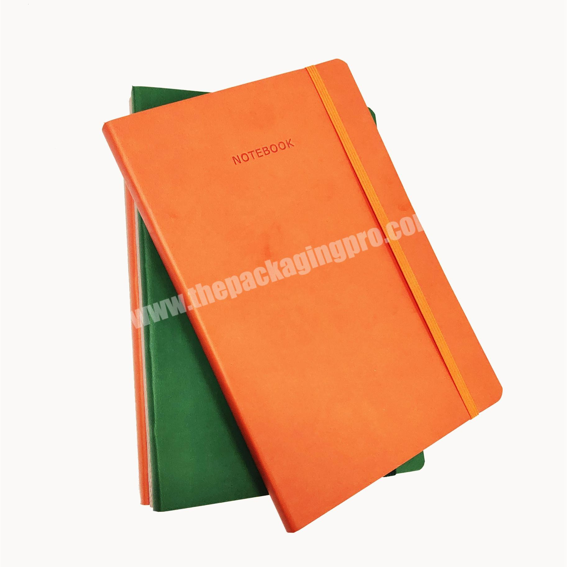 Hot Sale PU Leather Notebook Classmate Diary With Elastic Personal Planner