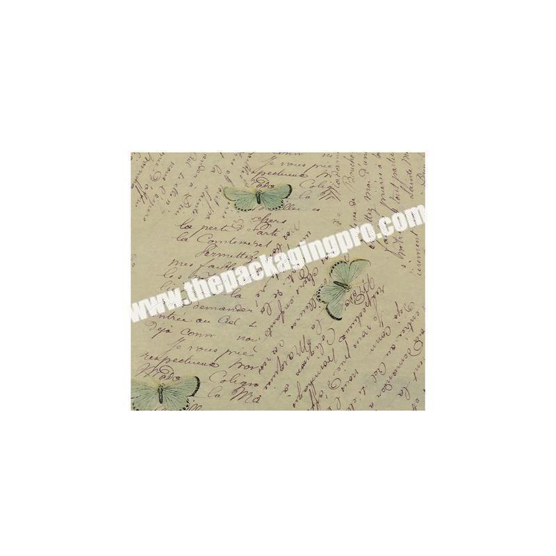 Supplier Hot sale tissue paper for wrapping