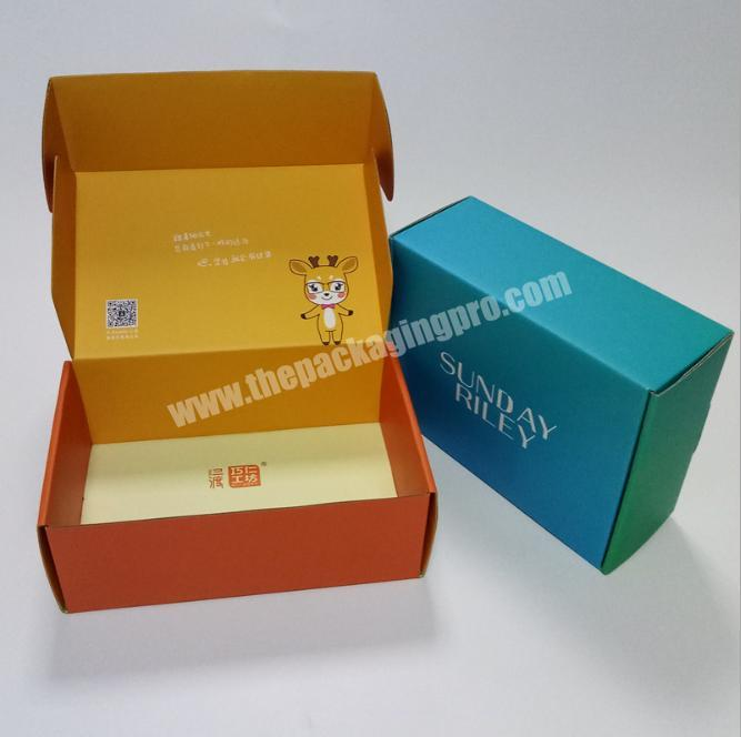 Hot Sell Storage Box For Cloth As Small Corrugated Mail Box