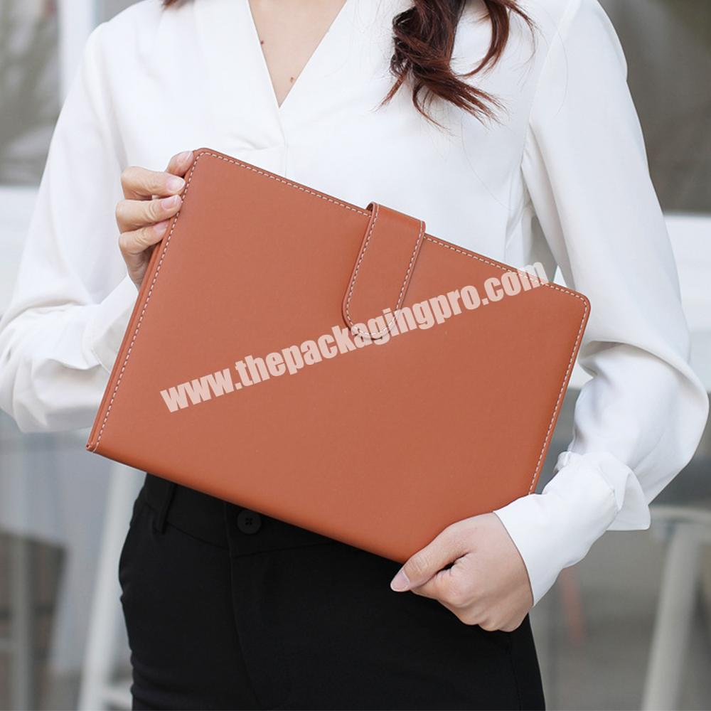 Shop Hot Selling A4 Hardcover PU Leather School Stationery Classmate Undated Notebook