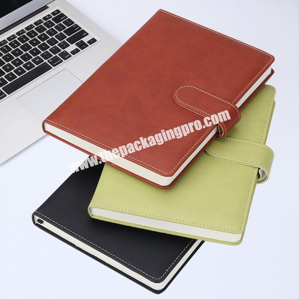 Supplier Hot Selling A4 Hardcover PU Leather School Stationery Classmate Undated Notebook