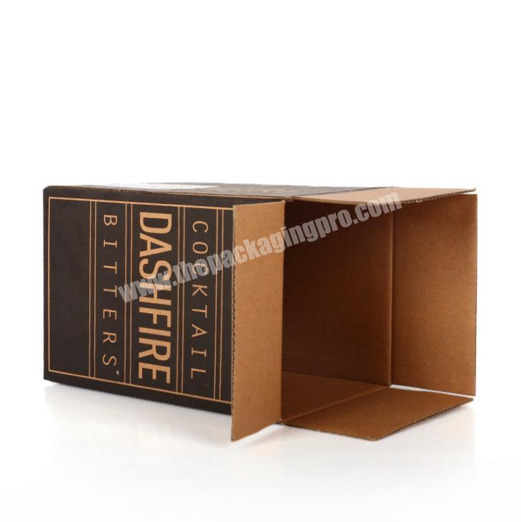 Shop hotsell packaging box corrugated paper kraft corrugated paper