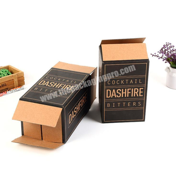 Supplier hotsell packaging box corrugated paper kraft corrugated paper