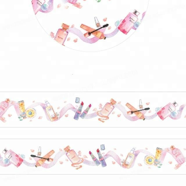 Supplier Interesting girl friends' gifts custom printed japanese washi tape wholesale