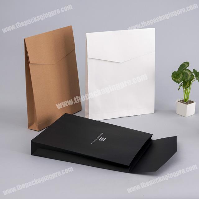 Kraft paper envelopes file clothing bags T-shirt express gift bag printing logo