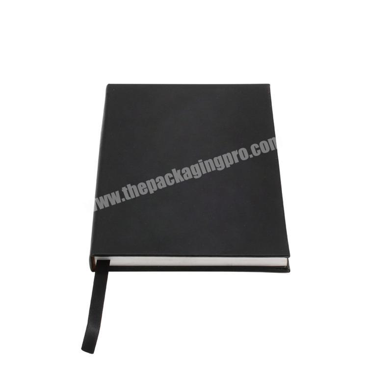 Custom Logo printed cardboard  hard cover custom notebook