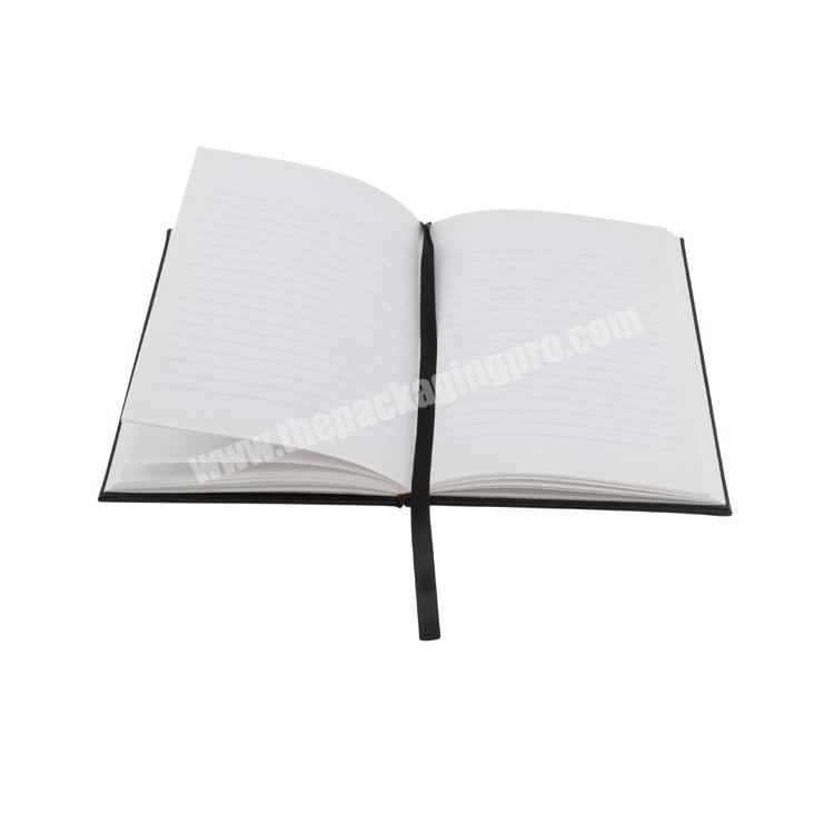Supplier Logo printed cardboard  hard cover custom notebook