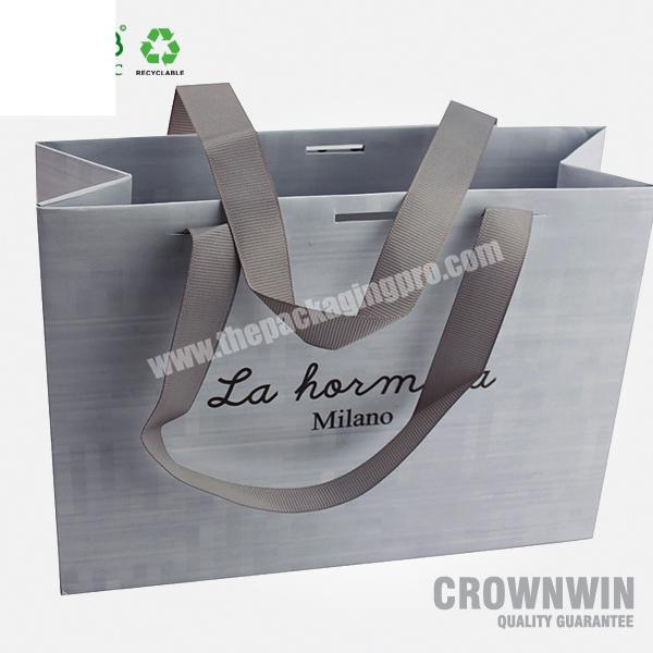 Low cost colorful personalized paper bag