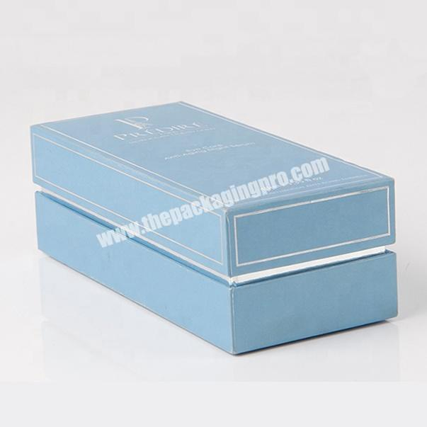 Supplier luxury candle package perfume box making customised packaging box