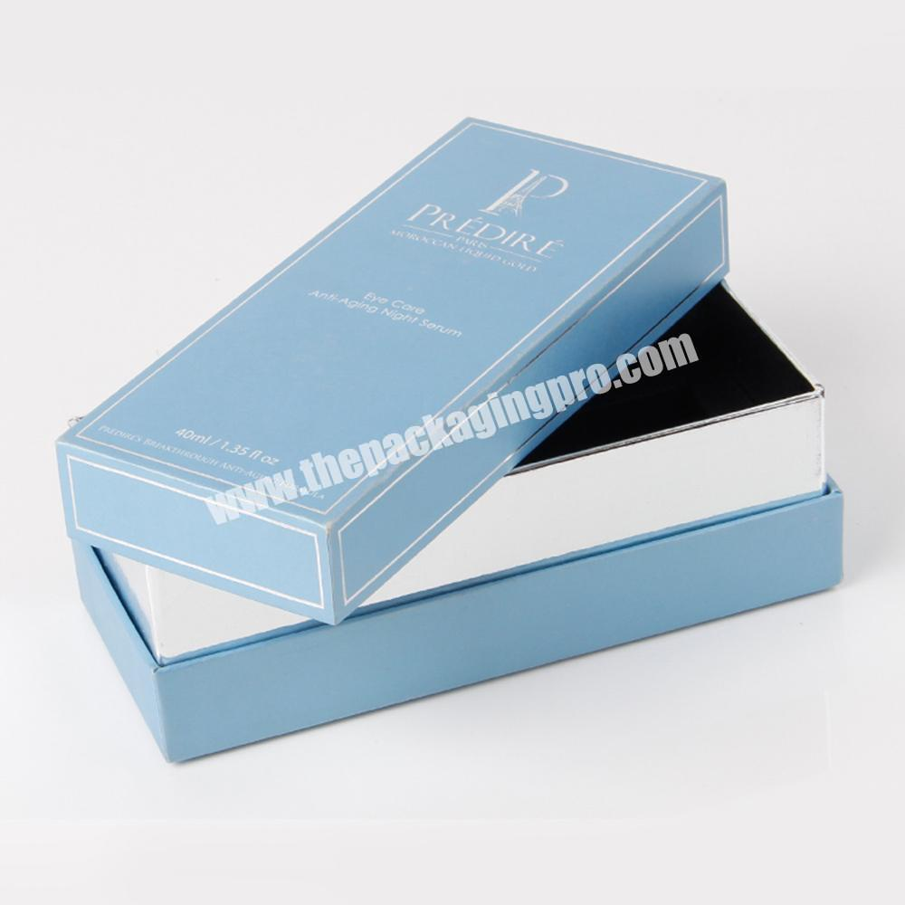 Manufacturer luxury candle package perfume box making customised packaging box