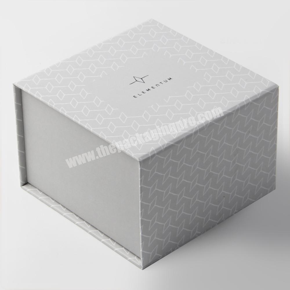 luxury ivory EVA diecut perfume packaging paper box