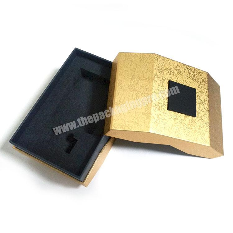 Luxury packaging product box design cardboard boxes with lids