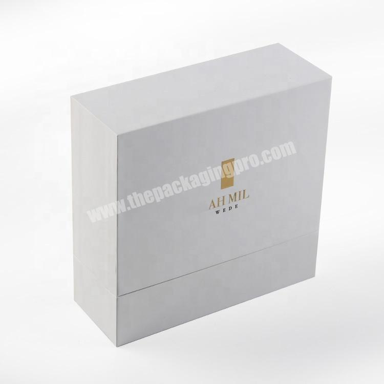 Shop luxury paper wedding gift boxes perfume lipstick cosmetic packaging sets for guest