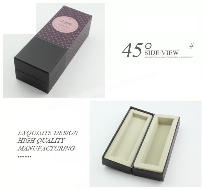 Supplier Luxury round tube cosmetic product printing box