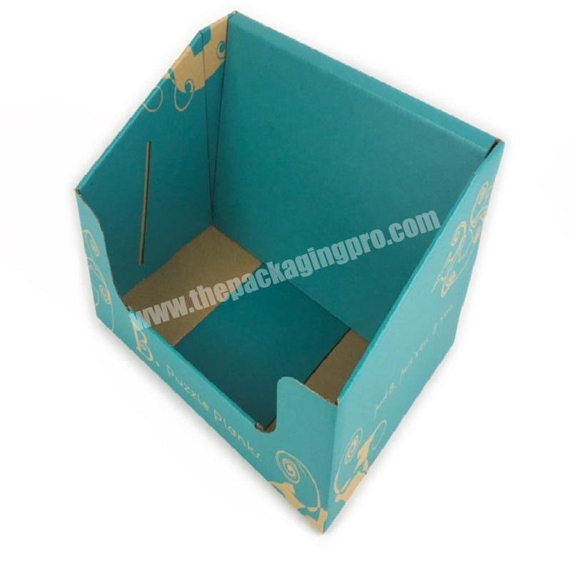 Made in China Customized lollipop retail counter supermarket food display box