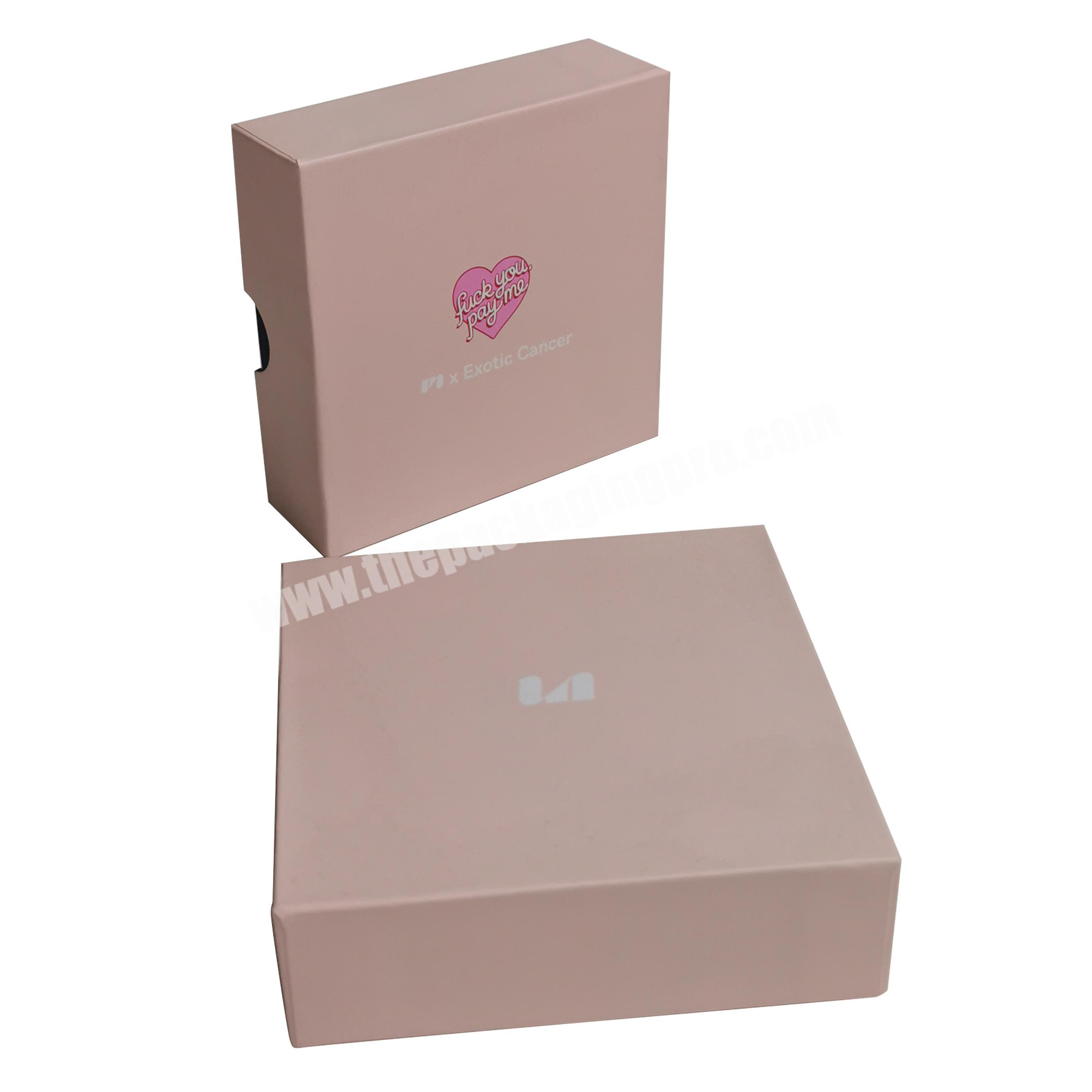 Made in China luxury Custom Packaging paper box with lid