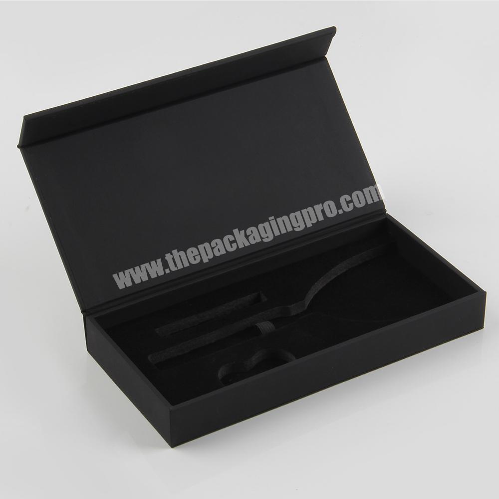 Magnetic Open Cosmetic Packaging Box for nail polish bottles
