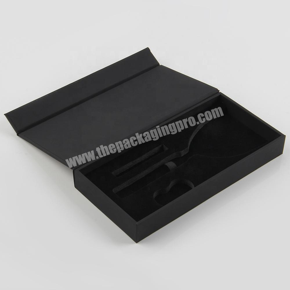 Factory Magnetic Open Cosmetic Packaging Box for nail polish bottles