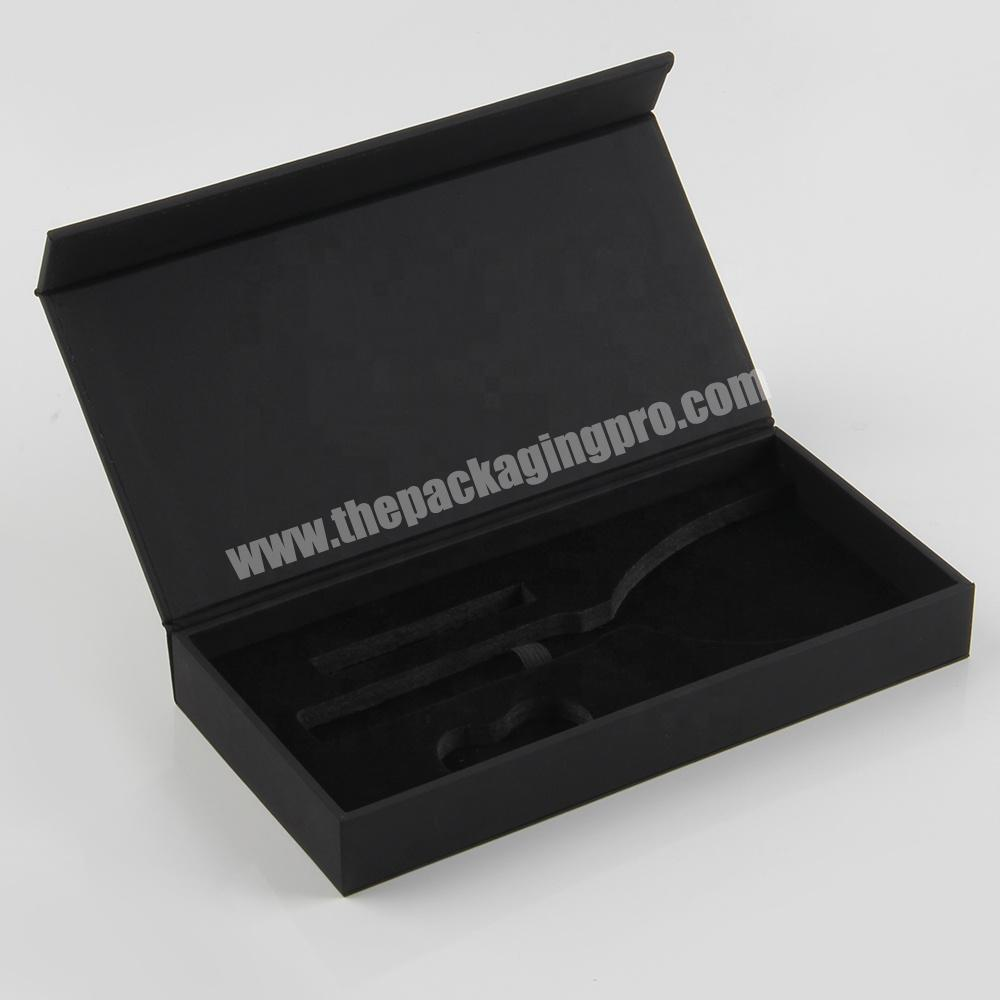 Manufacturer Magnetic Open Cosmetic Packaging Box for nail polish bottles