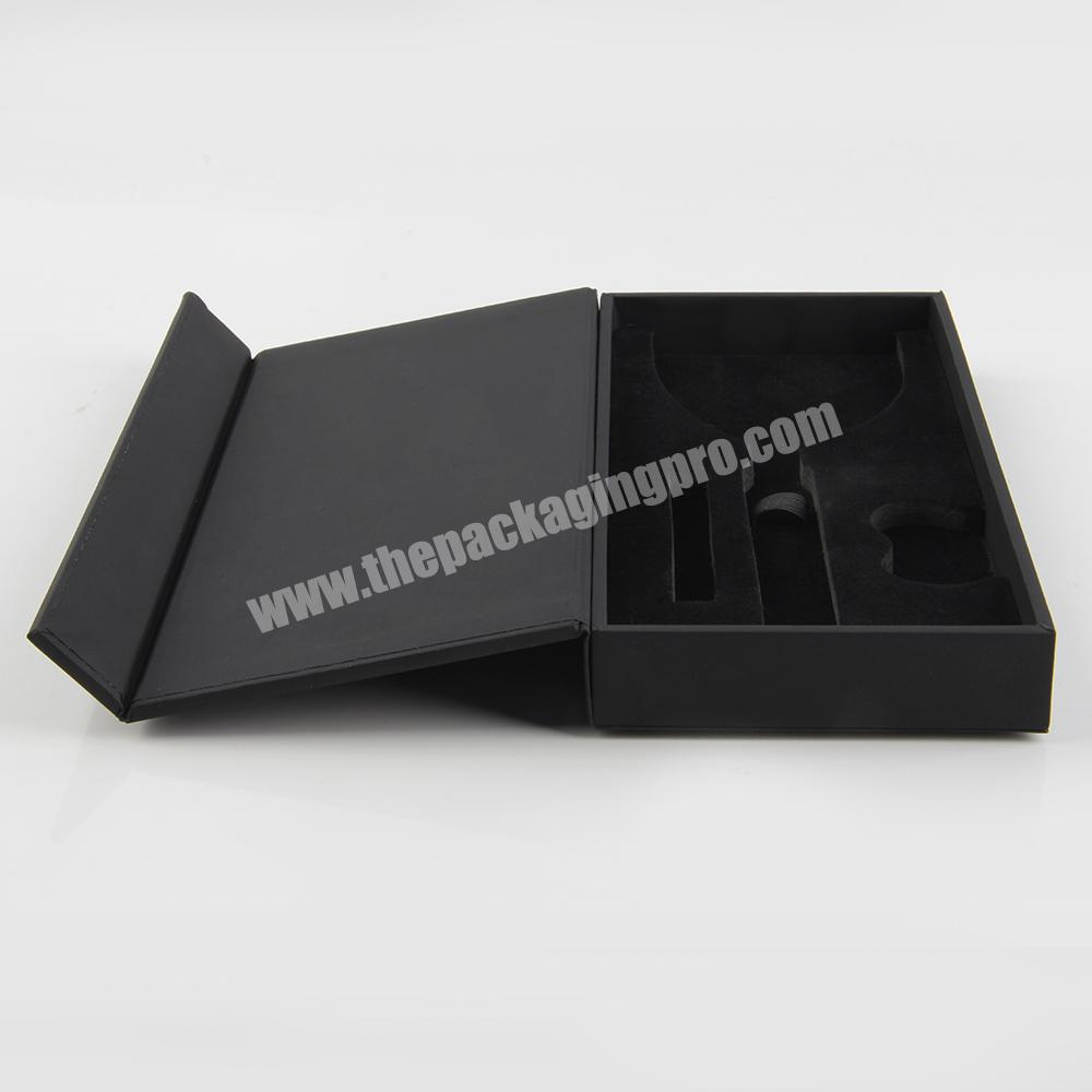 Supplier Magnetic Open Cosmetic Packaging Box for nail polish bottles