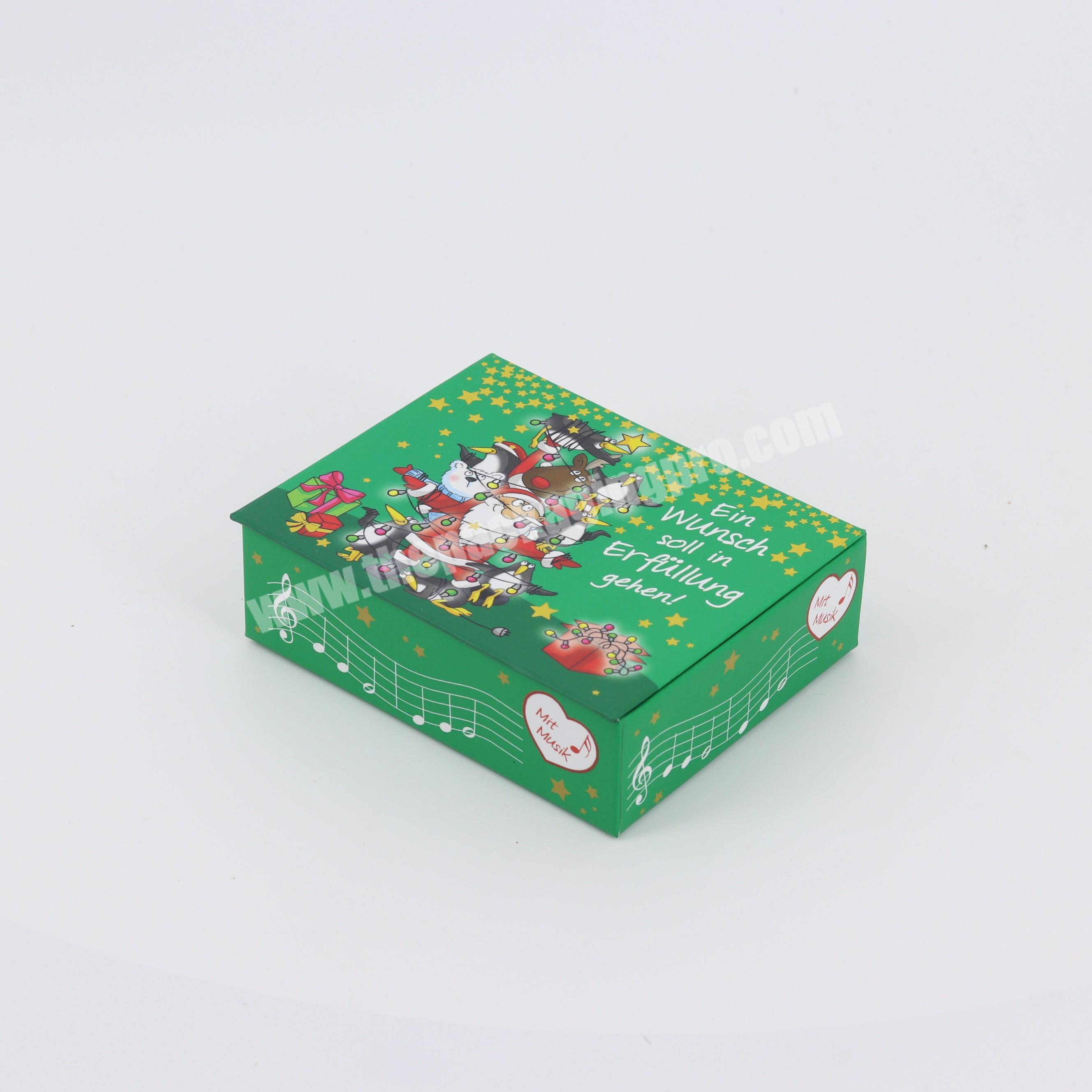 Manufacturer Christmas Hot Selling Foldable Recycled Magnetic Small Shipping Gift Packaging Boxes