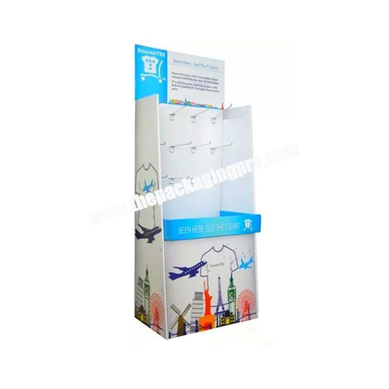 Manufacturer corrugated metal display box