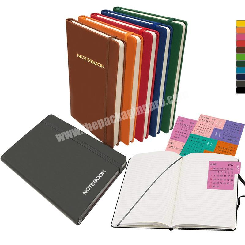 Manufacturer Customized Diary Moleskin Leather Journal Student Notebook