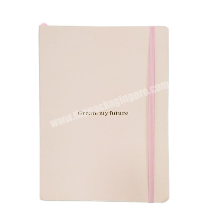 Factory Manufacturer Customized Gold Foil Diary Cute Hardcover Notebook Journal