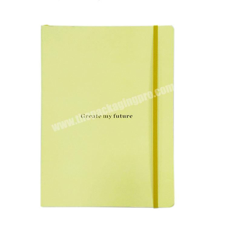 Wholesale Manufacturer Customized Gold Foil Diary Cute Hardcover Notebook Journal
