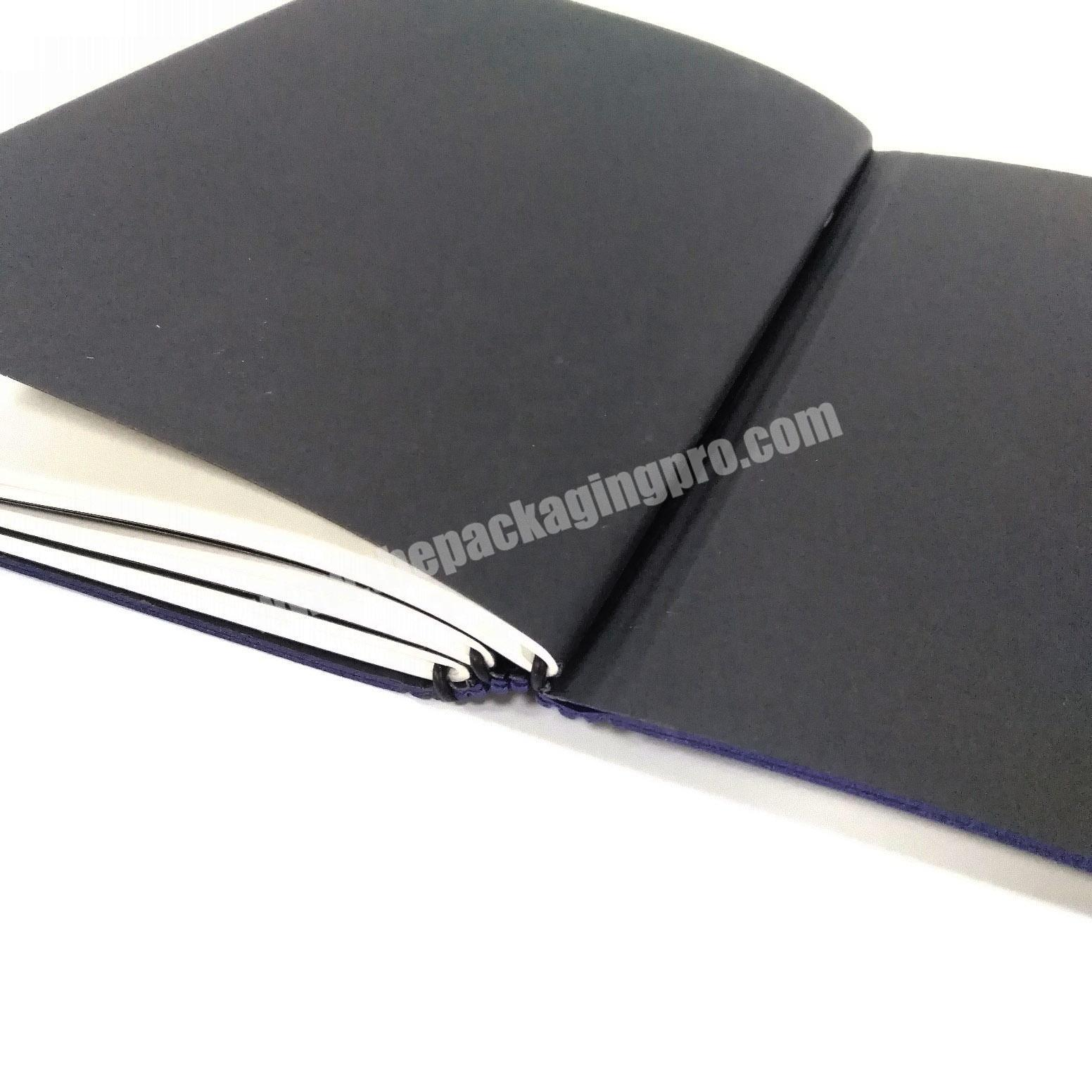 Manufacturer Nice Quality Leather Diary Cheap A5 Custom Notebook Student Journal