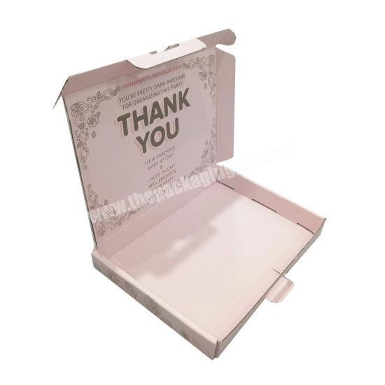 Factory Manufacturing Custom Luxury Hair Extension Gift Packaging Box with Silk