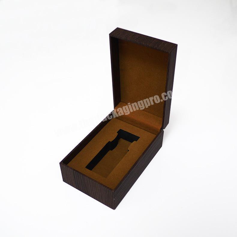 Wholesale MDF luxury perfume wooden box for perfume bottle wood storage box
