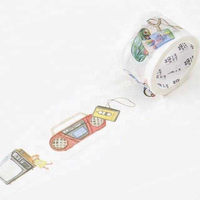 Meaningful childhood's memories custom printed make washi paper tape