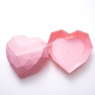 Modern design heart shaped flower box box flower gift flower box jewelry with best quality