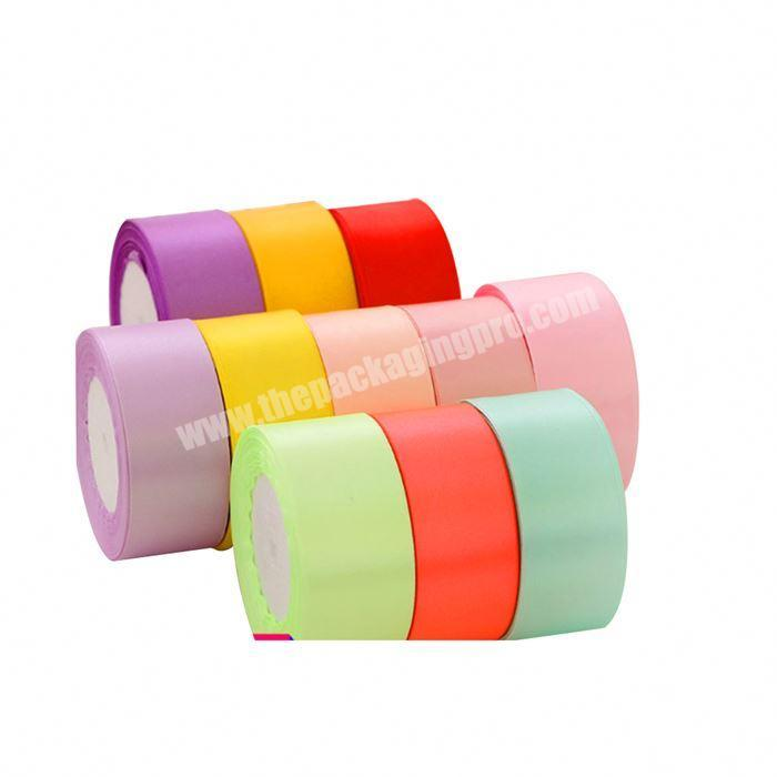 Manufacturer New Arrival Customized Logo Printed Colorful Satin Ribbon For Easter Day