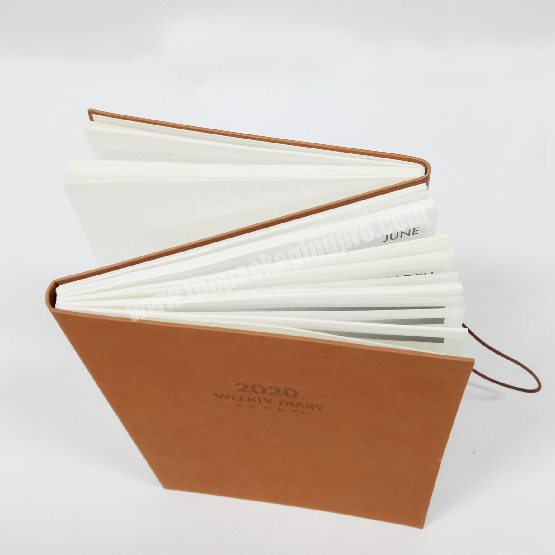 New Design A5  Faux Leather Notebook Custom Personalized Travelers Notebook