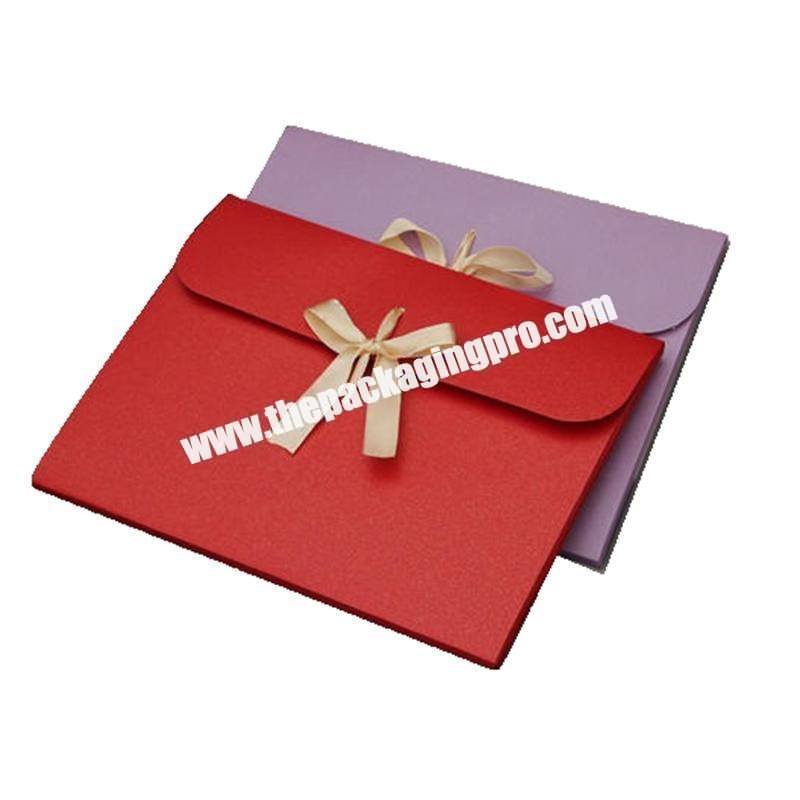 New Envelop Wrapping Paper Wedding Card Box Gift for Wedding Invitation Shipping